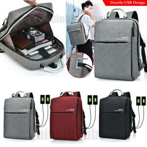 Image Is Loading Anti Theft Waterproof Travel Laptop Backpack Dual Usb