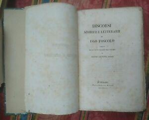 1843-Discorsi-Storici-e-Letterarii-di-Ugo-Foscolo-Tradotti-Pietro-Giuseppe-Maggi