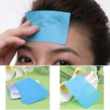 100x Controllo Olio Viso assorbimento Film trucco tessuto carta assorbente Della Pelle Grasso