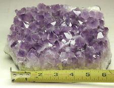 Amethyst Crystal Slab Brazil Mineral Specimen