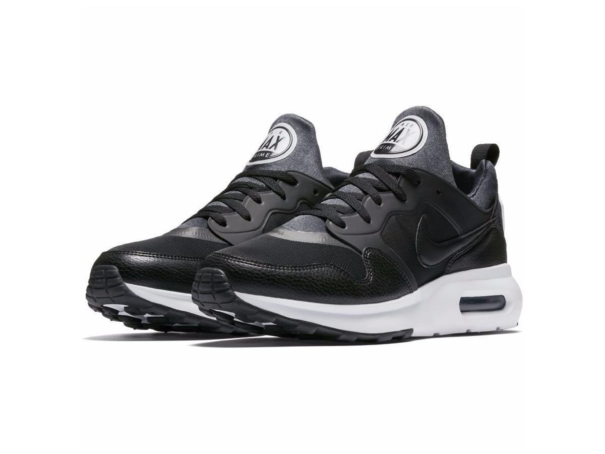 da357df60 Men s Nike Air Max Prime Running Shoes Black White NIB 876068-001 876068-