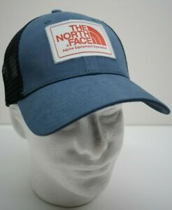 9530ae2cdcf6c1 The North Face Unisex Mudder Trucker Hat Cap Snapback One Size Blue ...