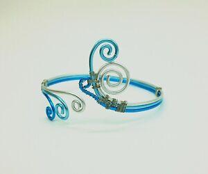 Bracelet-Wire-Wrapped-Bracelet-Cuff-Bracelet-Wire-Wrapped-Bracelet-Women