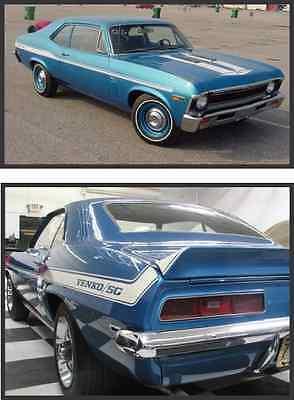 1969 Yenko Camaro or Nova     STENCIL KIT