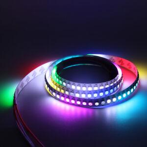 5m-30-60-144-RGB-LED-Strip-Stripe-mit-WS2812B-5050-SMD-LEDs-WS2812-Versand-au-5v
