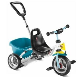 puky dreirad cat 1 s fun trike 2227 wei mint ab 2 jahre bzw 90cm ebay. Black Bedroom Furniture Sets. Home Design Ideas