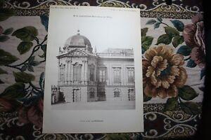 1890 13/autriche Vienne Belvedere-afficher Le Titre D'origine