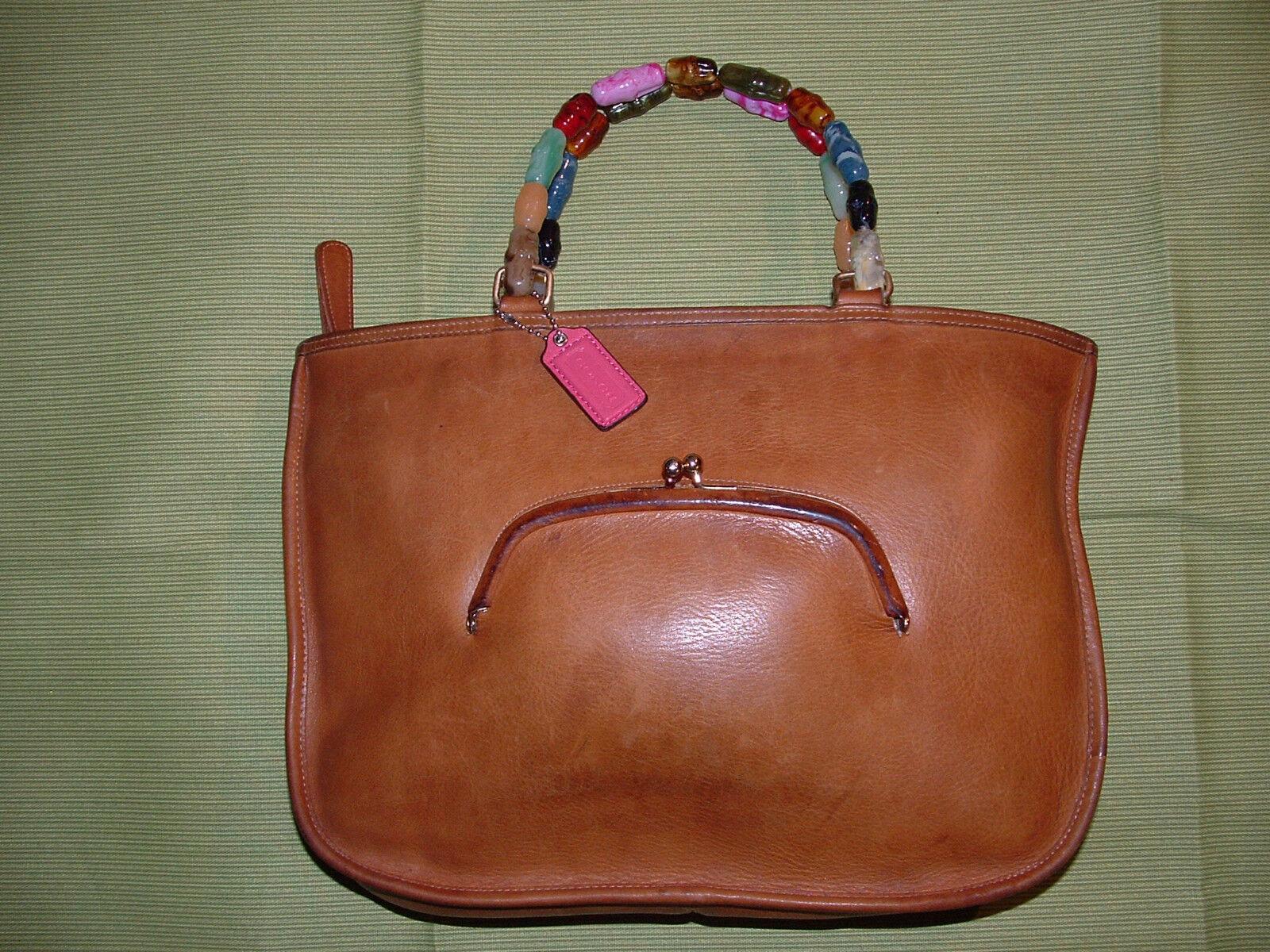 Custom vintage COACH Bonnie Cashin satchel VGC **… - image 1