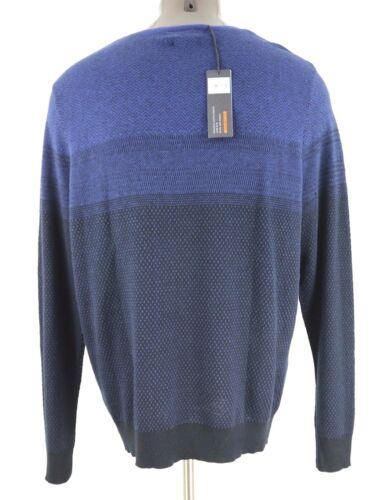 Nuevo Marc Blend cuello redondo Luxury suéter Xxl tamaño Anthony Slim de suéter Fit rrwZ6qCx