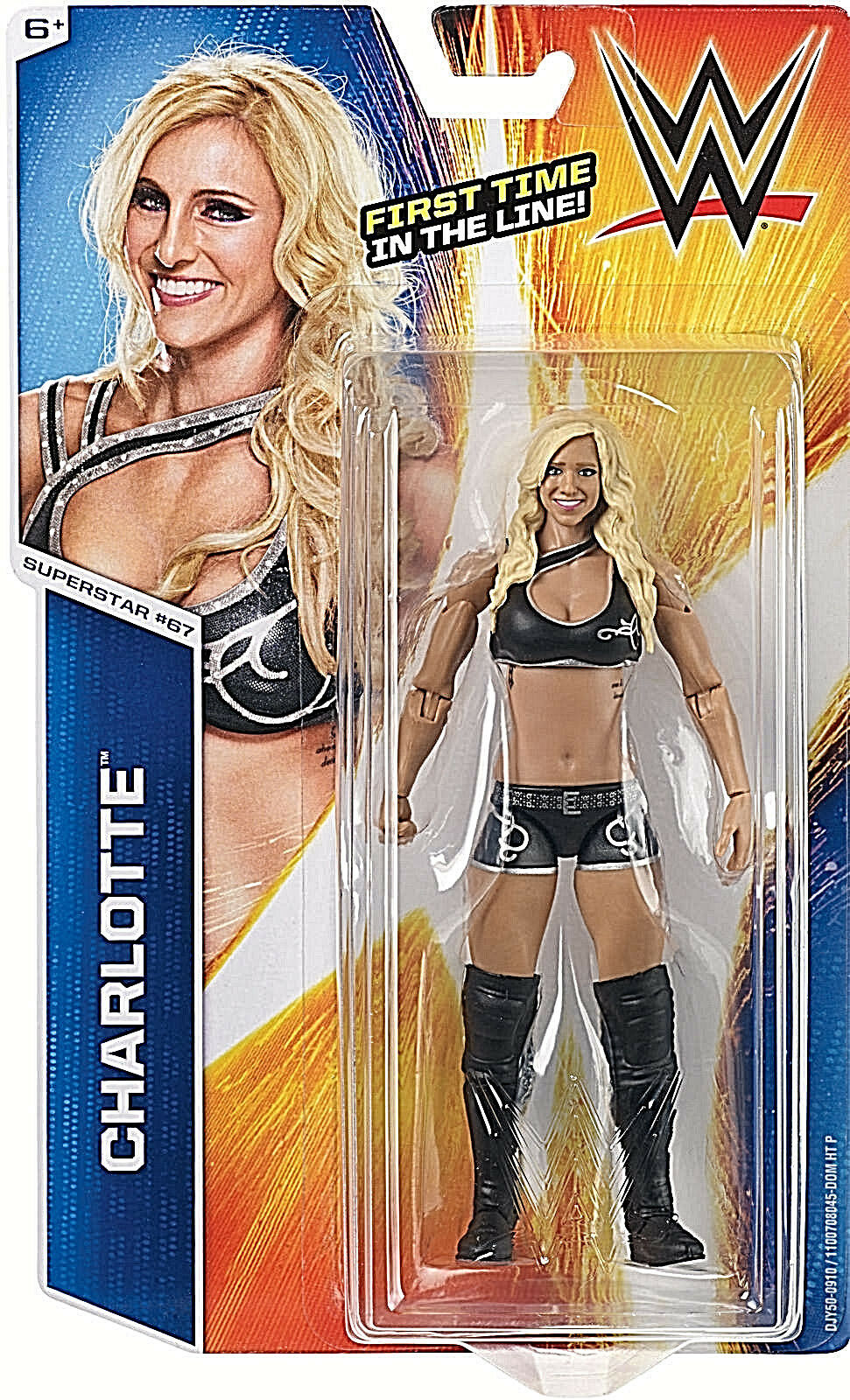 WWE Basic Collection Series __CHARLOTTE 6 inch figure_First Time in the Line