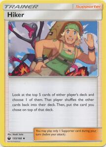 Trainer Pokemon Card 133/168 Hiker Celestial Storm