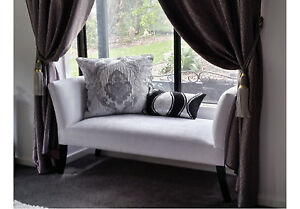 2 SEATER BEDROOM BENCH SEAT, BED END SOFA, CHAIR, OTTOMAN ...