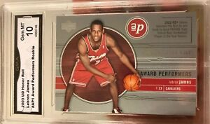 Lebron-James-ROOKIE-2003-04-Upper-Deck-Honor-Roll-Award-Performers-Gem-mint-10