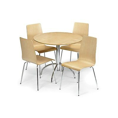 Julian Bowen Mandy Maple Round Dining Table MAN001