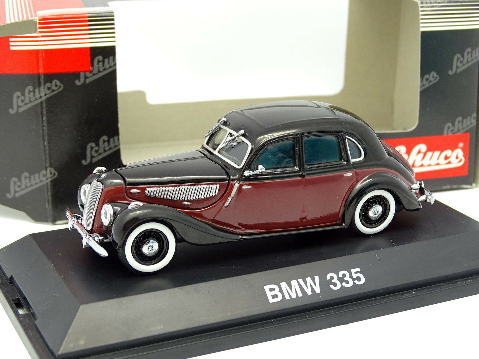 Schuco 1 43 - BMW 335 Bordeaux   Noire