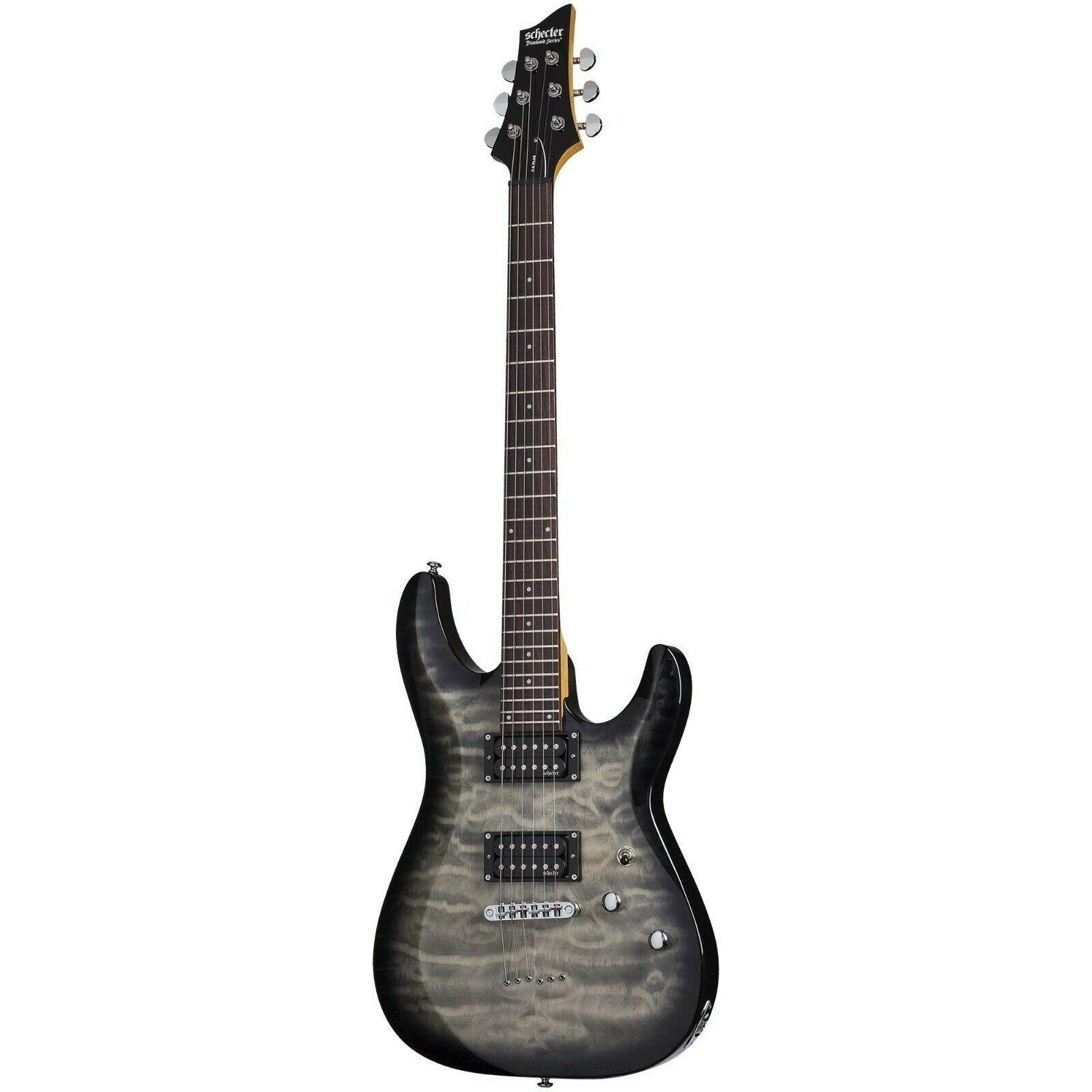 Schecter C-6 Plus Charcoal Burst CB Electric Guitar B-Stock C6 C 6