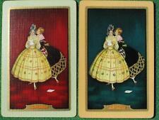 "Art Deco Spectacular 1928 Swap Cards ""The Letter"" Ladies by Jennie Harbour MINT"
