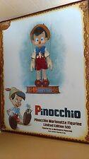 Disney Store Pinocchio Marionette Figure LE #249 of 500 NEW