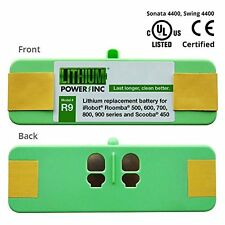 Lithium Roomba Replacement Battery iRobot 500 600 700 and 800 Series 4400 mAH