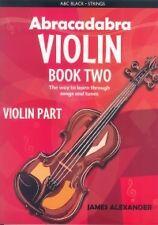 Libro 2 parte de violín Violín Abracadabra