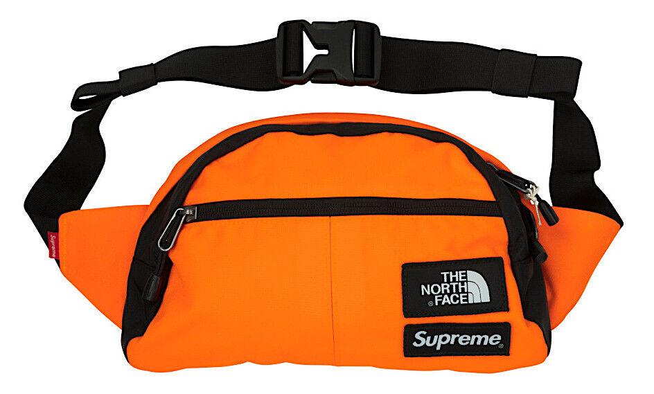 849b1fa3b Supreme X The North Face Roo II Lumbar Pack Bag Power Orange Fw16 out