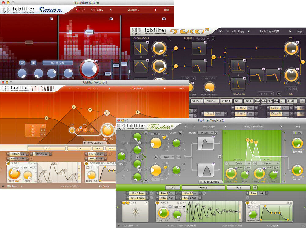 FabFilter Creative Bundle (Electronic Delivery) - Authorized Dealer