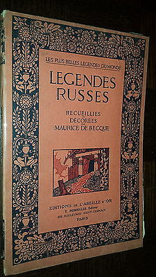 LEGENDES RUSSES - Recueillies et décorées par Maurice de Becque 1922 - Russie