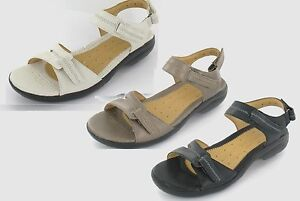 ee4a8af05fbc Image is loading LADIES-CLARKS-UNSTRUCTURED -LEATHER-CASUAL-RIPTAPE-STRAP-SUMMER-