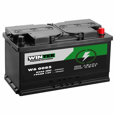 autobatterie winter 12v 100ah starterbatterie wartungsfrei. Black Bedroom Furniture Sets. Home Design Ideas