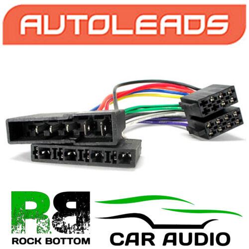 Autoleads pc2-16-4 Rover Maestro 1983-1994 Auto Stereo Iso Cable Adaptador Conector