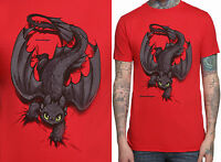 toothless How To Train Your Dragon Night Fury X-ing Unisex T-shirt Sizes S-2xl