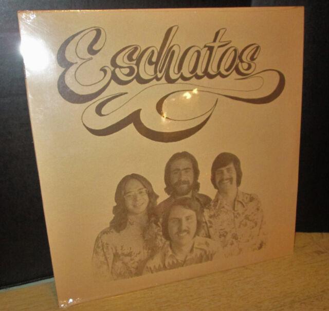 rare 1974 ESCHATOS s/t SEALED LP private xian PSYCH funk Christian Rain RSR 2718