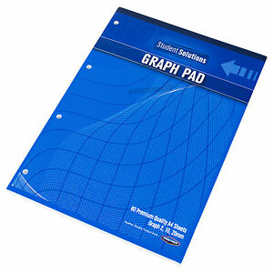 image is loading 3 x a4 graph paper pads 2 10