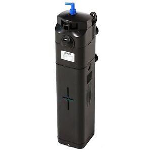 NEW-DESIGN-13W-UV-Sterilizer-Adjustable-Pump-Filter-150-gal-Aquarium-Fish-Tank