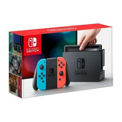 Nintendo Switch 32GB Console with Neon Blue and Neon Red Joy-Con