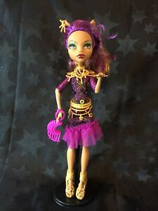 Monster High Frights Camera Action Clawdeen Wolf Doll   eBay
