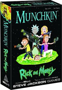 Munchkin-Rick-And-Morty-Card-Game-From-Steve-Jackson-Games-MU085-434-USAopoly