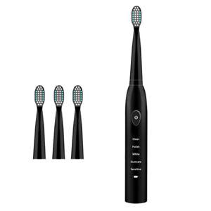 5-modo-de-Sonic-Recargable-Cepillo-de-dientes-electrico-Cabezales-Cepillo-4x-T8B9-Impermeable-IPX