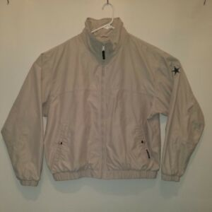 new styles f4fd8 44d7a Details about XL Columbia Sportswear Company Beige Jacket with Dallas  Cowboys star embroidered