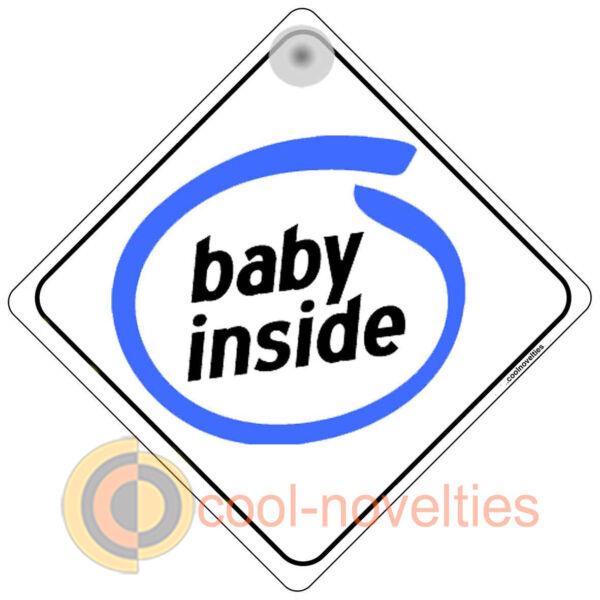 """""""baby Inside"""" Drôle De Signer Pour Les Fans De Pc-bébé à Bord"""