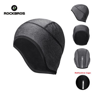 ROCKBROS Winter Cap Outdoor Sports Windproof Keep Warm Cycling Cap Hat One Size