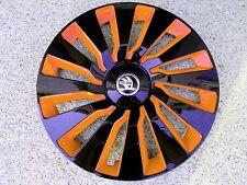 4 Radkappen für Skoda Octavia/Yeti in 16 Zoll in orange/schwarz