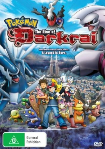 1 of 1 - Pokemon - The Rise Of Darkrai (DVD) R4 BRAND NEW SEALED - FREE POST!
