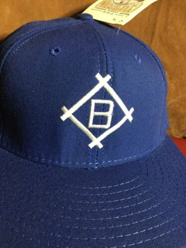 1955 brooklyn dodgers cap vintage hat baseball diamond fitted size