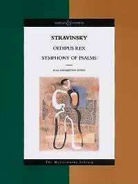 Women Stravinsky Oedipus Rex & Symphony Of Psalms Master Suitable For Men And Children