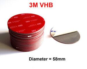Adhésif Double Face Vhb 58mm A Mousse Acrylique 3M™ 5508A Gauge 0,8mm Diamètre