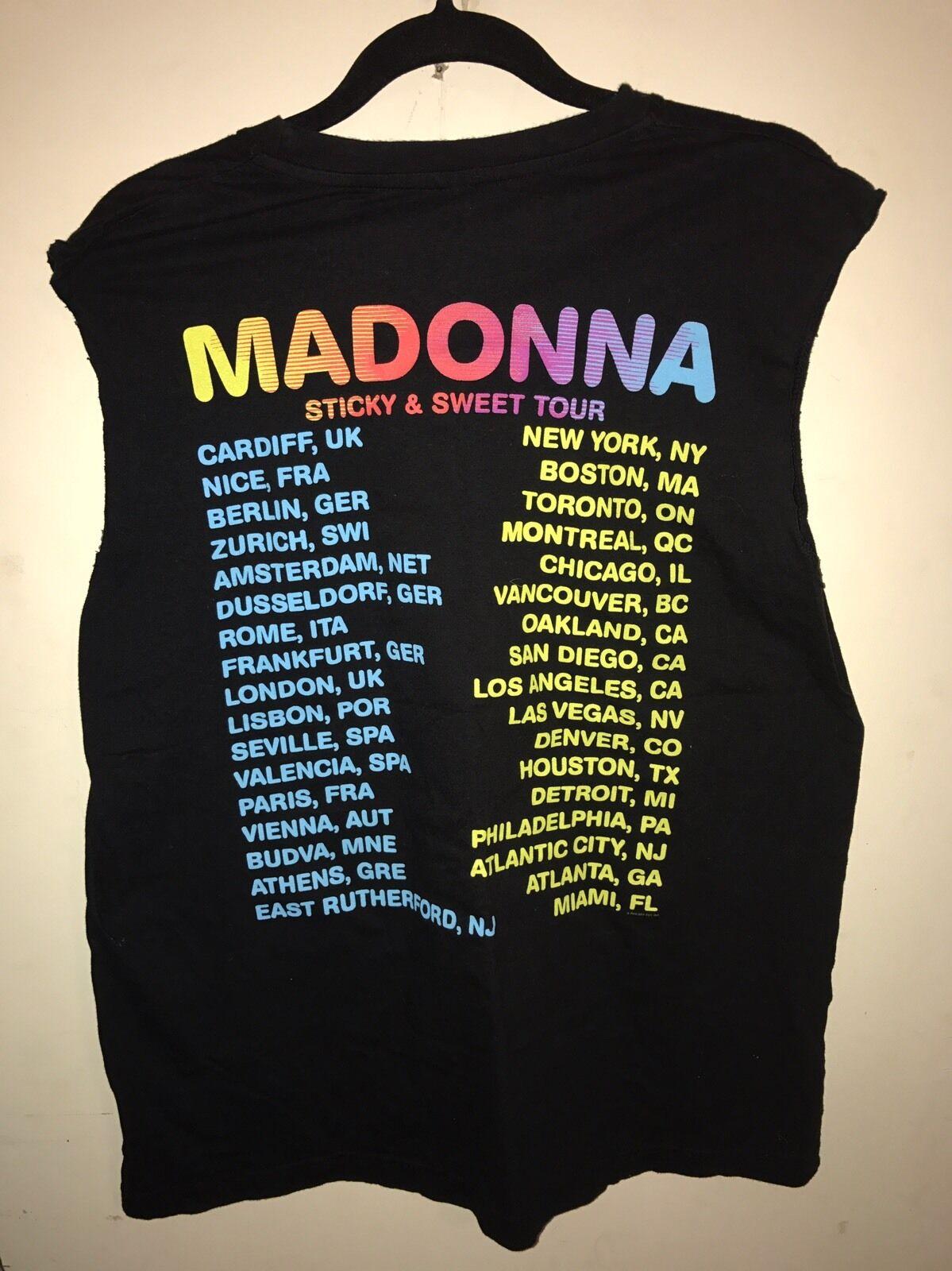 madonna tour shirt - image 2