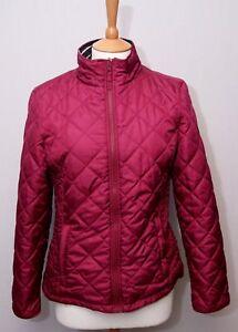 Femme-Joules-rouge-vin-Diamond-Quilt-Rembourre-Chaud-Exterieur-Pays-Veste-UK-12