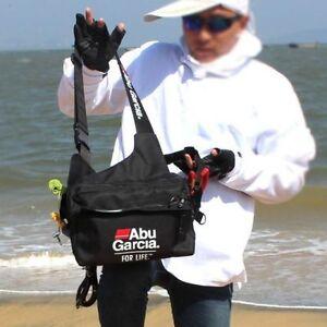 ABU-GARCIA-Fishing-Tackle-Bag-Waterproof-Pockets-Waist-Shoulder-Reel-Lure-Bags