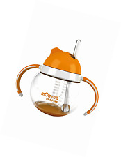 mOmma Cup with Straw and Dual Handles 250 ml (Orange)